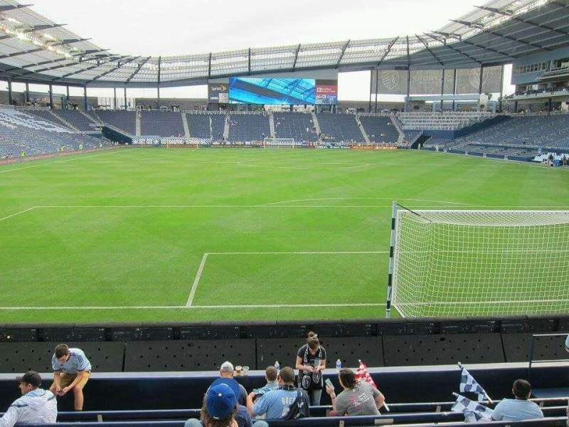 Seating view for Children's Mercy Park Section M6 Row 09 Seat 12
