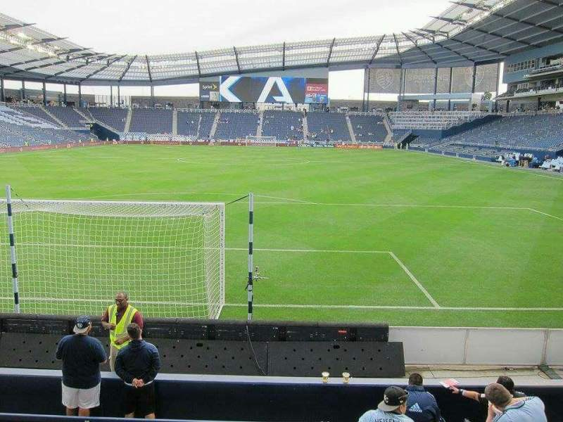 Seating view for Children's Mercy Park Section M7 Row 08 Seat 13