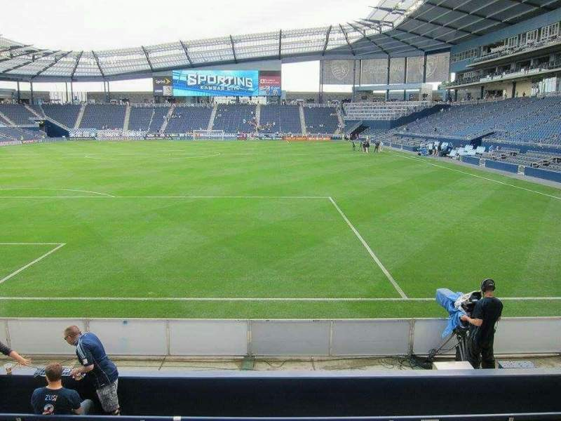Seating view for Children's Mercy Park Section M8 Row 08 Seat 11