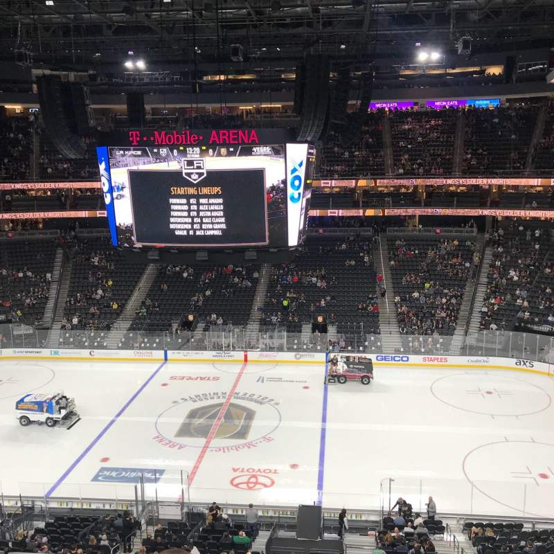 T-Mobile Arena, section: 207