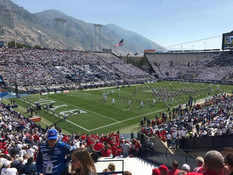 LaVell Edwards Stadium, section: 121, row: 5, seat: 1