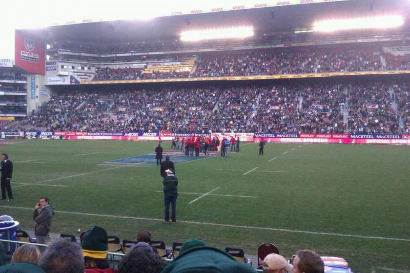 Seating view for Newlands Rugby Stadium Section D Row LL Seat 114