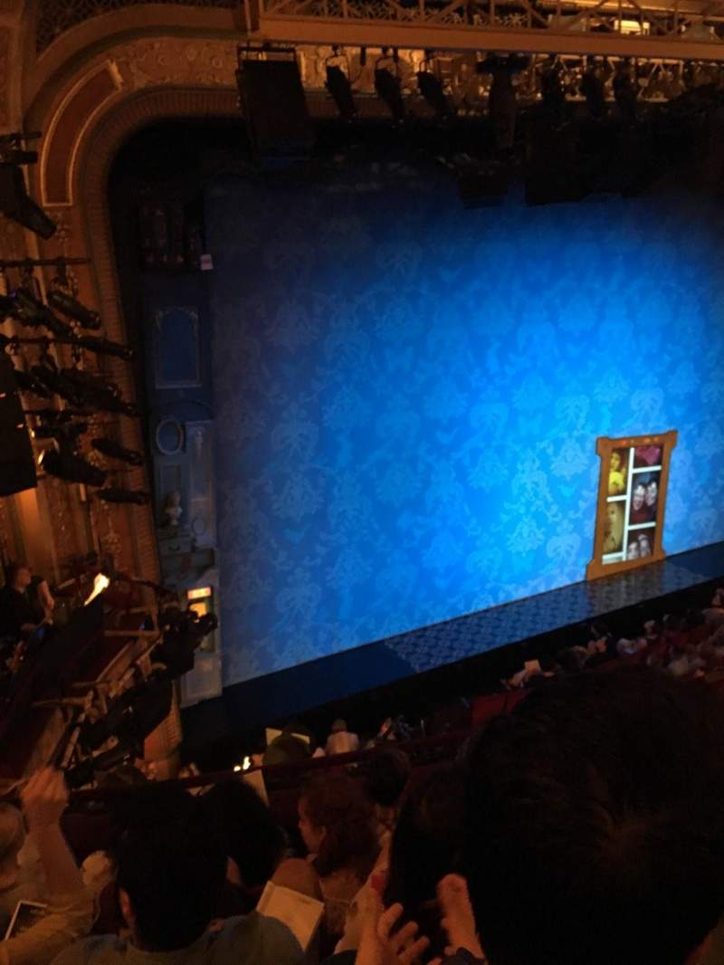 Seating view for Walter Kerr Theatre Section Mezzl Row E Seat 19