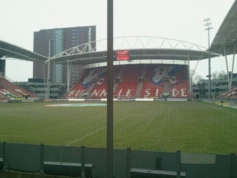 Seating view for Stadion Galgenwaard Section vak-v Row 22 Seat 24